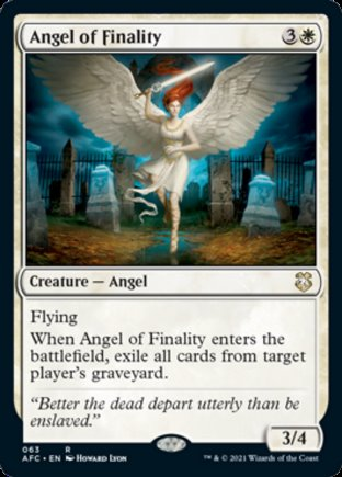 Angel of Finality | Commander Forgotten Realms