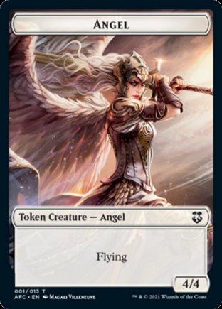 Angel token | Commander Forgotten Realms
