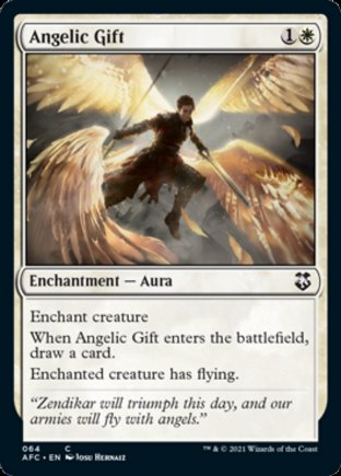 Angelic Gift   Commander Forgotten Realms