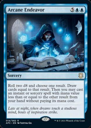 Arcane Endeavor   Commander Forgotten Realms