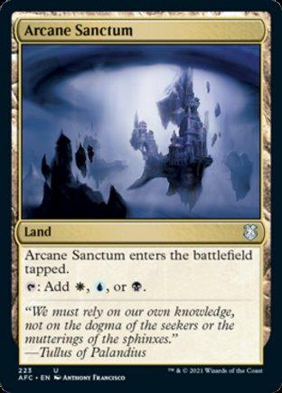 Arcane Sanctum   Commander Forgotten Realms