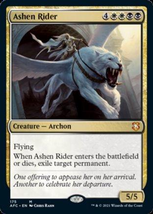 Ashen Rider | Commander Forgotten Realms