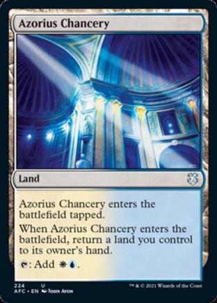 Azorius Chancery | Commander Forgotten Realms