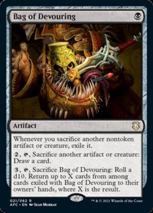 Bag of Devouring   Commander Forgotten Realms