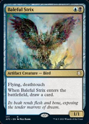 Baleful Strix | Commander Forgotten Realms
