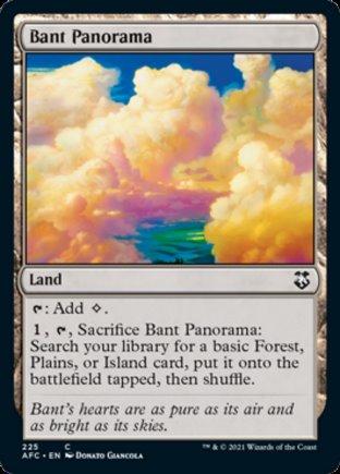 Bant Panorama   Commander Forgotten Realms