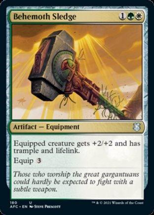 Behemoth Sledge | Commander Forgotten Realms