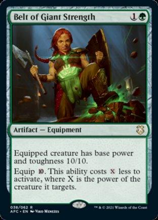 Belt of Giant Strength | Commander Forgotten Realms