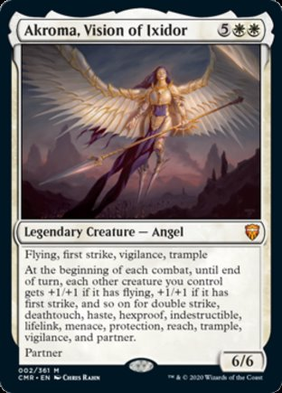 Akroma, Vision of Ixidor | Commander Legends