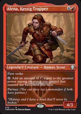 Alena, Kessig Trapper | Commander Legends