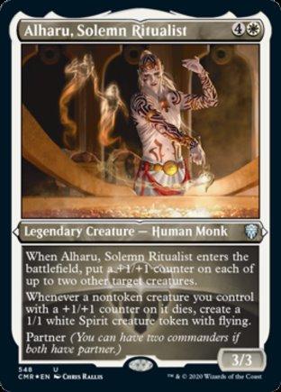 Alharu, Solemn Ritualist | Commander Legends
