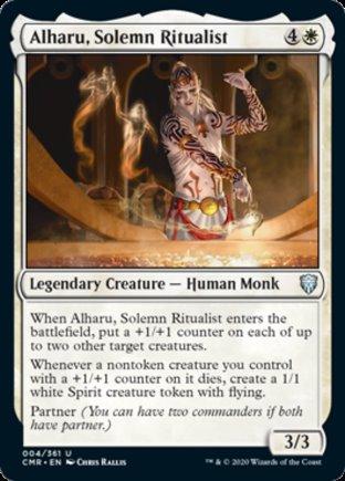 Alharu, Solemn Ritualist   Commander Legends
