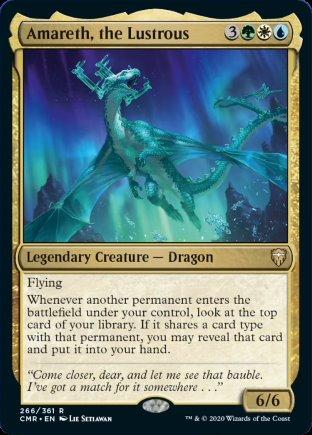 Amareth, the Lustrous | Commander Legends