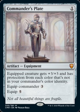 Commander's Plate | Commander Legends