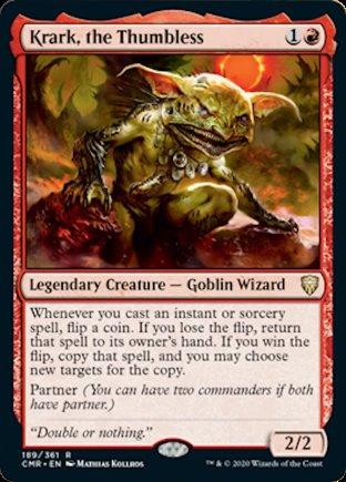 Krark, the Thumbless | Commander Legends