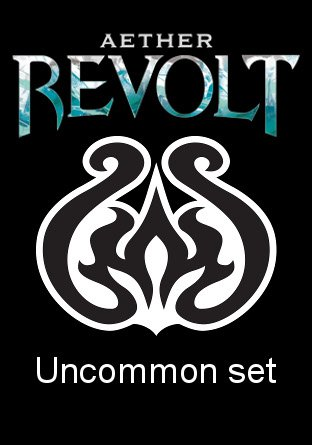 -AER- Aether Revolt Uncommon Set   Complete sets