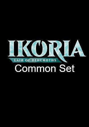 -IKO- Ikoria Lair of Behemoths Common Set   Complete sets