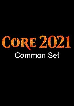 -M21- Core Set 2021 Common Set   Complete sets