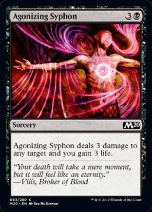 Agonizing Syphon | Core Set 2020