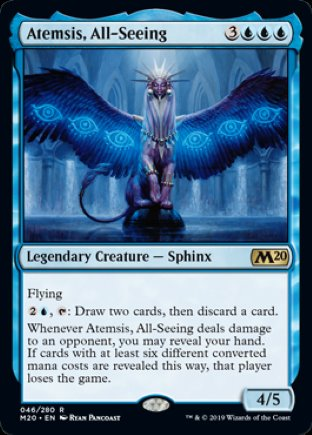 Atemsis, All-Seeing | Core Set 2020