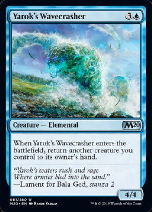 Yarok's Wavecrasher