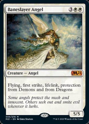 Baneslayer Angel   Core Set 2021