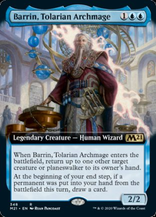 Barrin, Tolarian Archmage | Core Set 2021