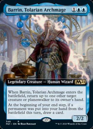 Barrin, Tolarian Archmage | Core Set 2021 (EA)