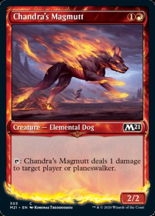 Chandra's Magmutt | Core Set 2021 (SC)