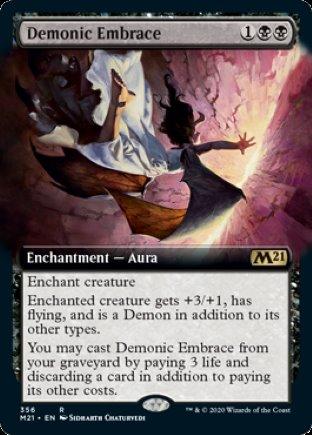 Demonic Embrace | Core Set 2021 (EA)