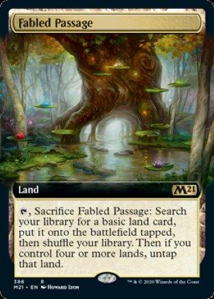 Fabled Passage | Core Set 2021 (EA)