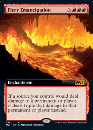 Fiery Emancipation | Core Set 2021 (EA)