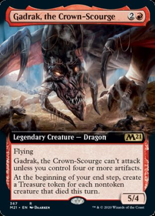 Gadrak, the Crown-Scourge | Core Set 2021 (EA)