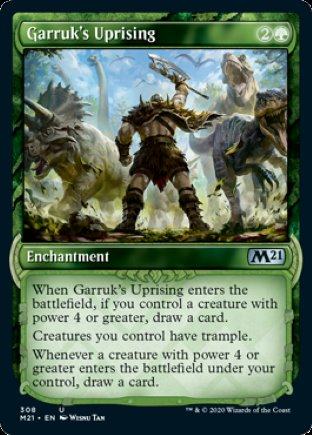 Garruk's Uprising | Core Set 2021 (SC)