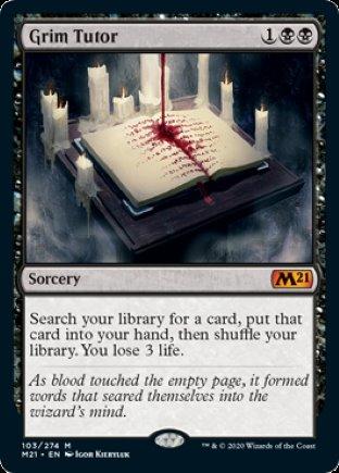 Grim Tutor | Core Set 2021