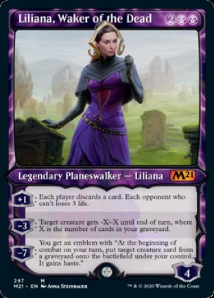 Liliana, Waker of the Dead | Core Set 2021 (SC)