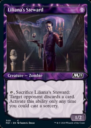 Liliana's Steward | Core Set 2021 (SC)