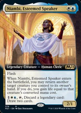 Niambi, Esteemed Speaker | Core Set 2021 (EA)