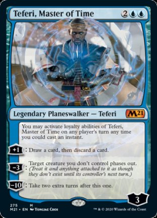Teferi, Master of Time | Core Set 2021