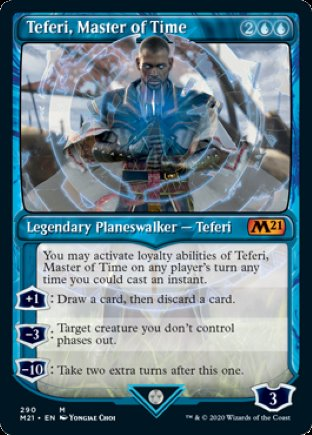 Teferi, Master of Time | Core Set 2021 (SCA)