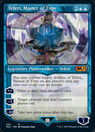 Teferi, Master of Time | Core Set 2021 (SCC)