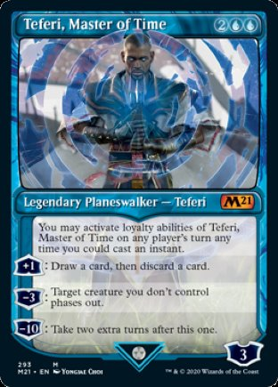 Teferi, Master of Time | Core Set 2021 (SCD)