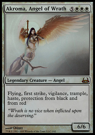 Akroma, Angel of Wrath   Divine vs Demonic