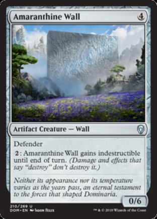 Amaranthine Wall | Dominaria