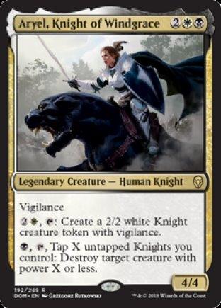 Aryel, Knight of Windgrace   Dominaria