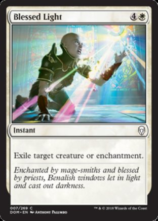 Blessed Light   Dominaria