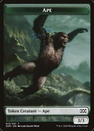 Ape token | Double Masters