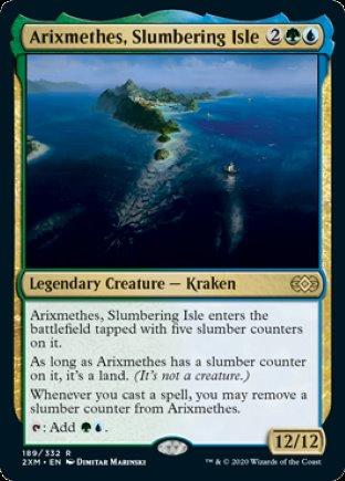 Arixmethes, Slumbering Isle   Double Masters