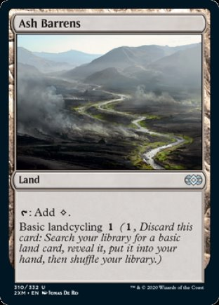 Ash Barrens | Double Masters