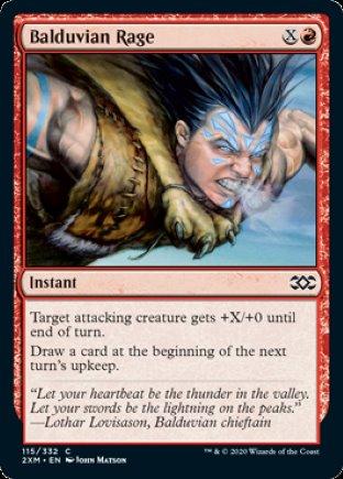 Balduvian Rage | Double Masters